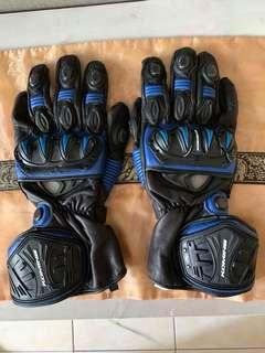 Komine Gk-100 Neo GP Gloves Blue