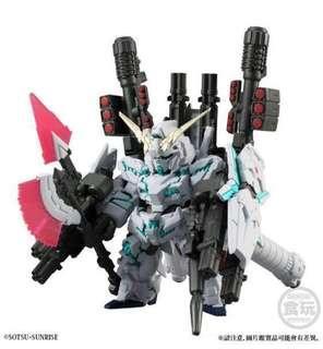 全新 行版 連啡盒 高達 FW Gundam Converge FULL ARMOR UNICORN GUNDAM