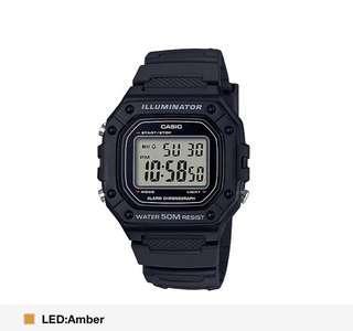 Casio Black Strap Watch! BN w box! Instocks!!