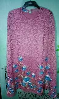 Dress brokat bordir
