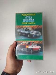Video tape Proton Saga Iswara