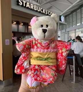 Japan 2019 Starbucks Spring 2019 Yukata Girl Bearista Bear