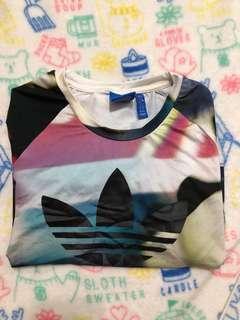 🚚 Adidas 二手 短版T