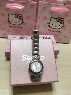 🚚 三麗鷗🎉限量kitty 蝴蝶結手錶