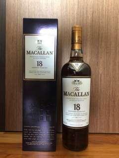 Macallan 18 yrs 2017