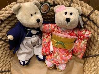 Japan 2019 Starbucks Spring 2019 Yukata Bearista Bears