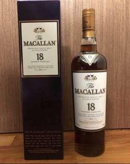 Macallan 18 years 2016
