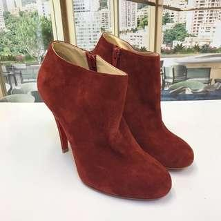 Size 35 大特價 Christian Louboutin Ankle Boot (Brand New)