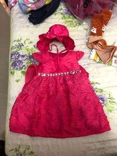 🚚 玫瑰禮服