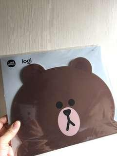 BROWN Mouse Pad(包郵)