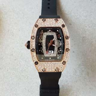 rm*inspired iced out watch