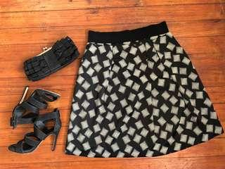 Veronika Maine Designer Skirt size 12