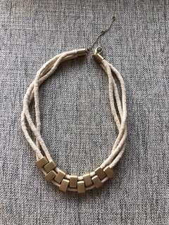 🚚 Promod rope necklace