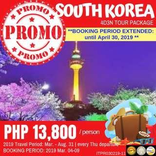 Promo: 4D3N Seoul Tour Package