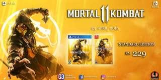 PS4/NS Mortal Kombat 11