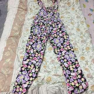 flowers jumpsuit