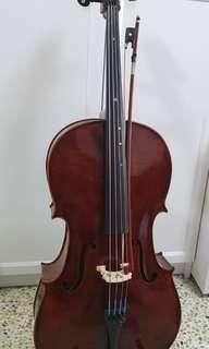 Half Size Cello 1/2