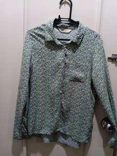 H&M printed long sleeves