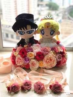 美少女戰士 車花 結婚
