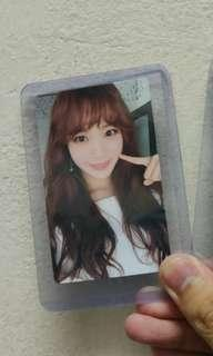 IZ*ONE CHAEWON PHOTOCARD