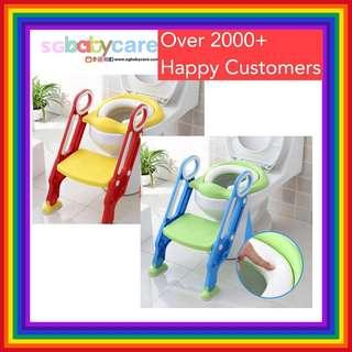 Toilet Training Seat and Steps