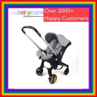 4-in-1 Convertible Car Seat Stroller