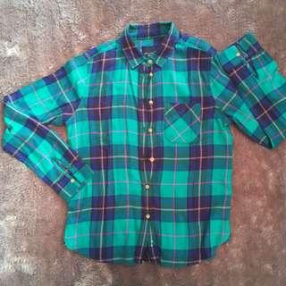 Kemeja Flanel American Eagle Outfiters
