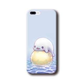 mamegoma / baby seal phone casing [ IPHONE / SAMSUNG / OPPO / HUAWEI ]