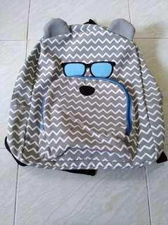 Grey bag backpack