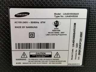 UA40H5008AR Samsung TV Part