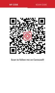 Follow me on carousel