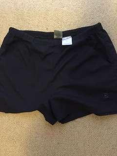 Nike vintage black shorts