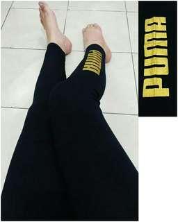 Legging pumaa foil emas