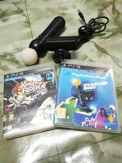 ps3 move + camera + cd