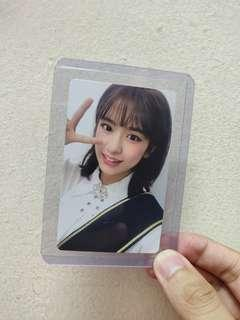 IZ*ONE COLOR*IZ AHN YUJIN PHOTOCARD