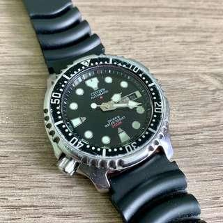 Citizen NY0040 Promaster Vintage Diver Watch #STB50