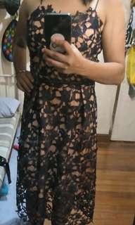 Self portrait laced dress Rush sale
