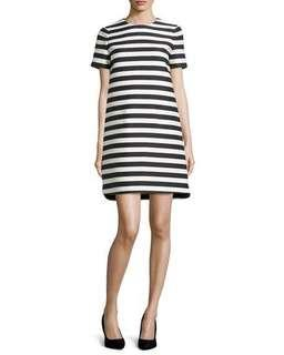 Kate Spade Yarn Dyed Stripe Shift Dress