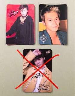 Yes card (Gigi, Deep, TFBOYS)