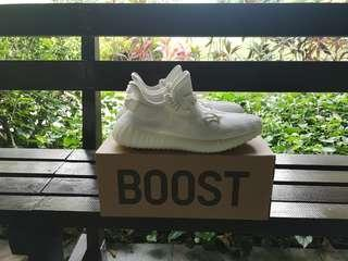 WTS BNIB Yeezy Boost 350 V2 Cream White
