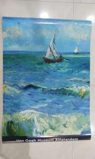 Van Gogh art print from Van Gogh musuem Amsterdam