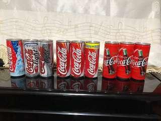 9罐 韓國 窄身可口可樂 250ml