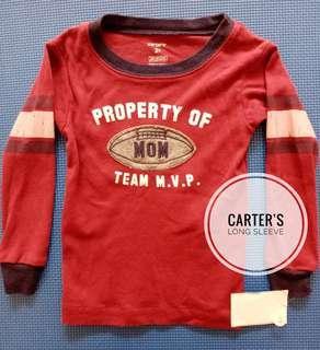 Kaos long sleeve anak laki-laki Carter's BRAND NEW!!