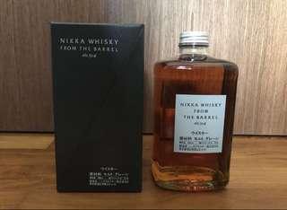 Nikka Barrel w box