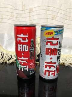 韓國 可口可樂 窄身罐 250ml