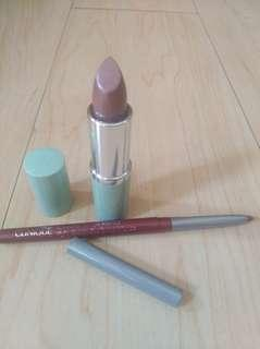 Authentic Clinique Lipstick set Pink Bamboo and Intense Cosmo