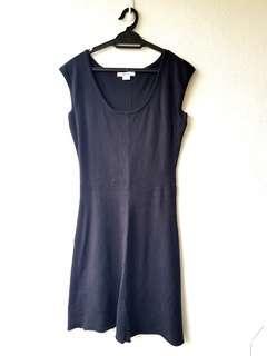 Black Knit Dress (S / L)