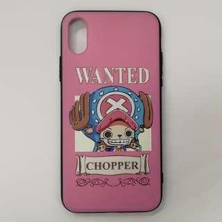 全新iPhone X/Xs機殼📱 Chopper Phone Case - 喬巴 One Piece 海賊王