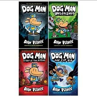 🚚 Dogman bookset