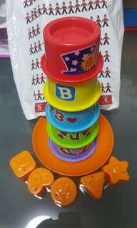 Stacker toy